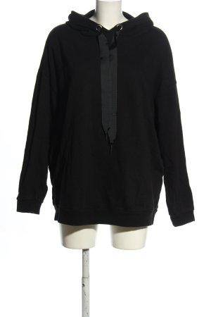 Amisu Oversized Pullover schwarz Casual-Look