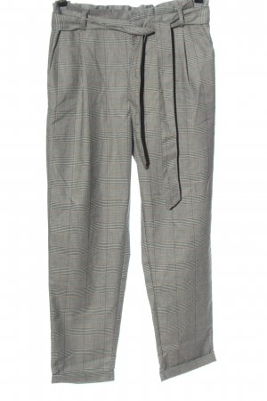 Amisu Paperbag Trousers check pattern casual look