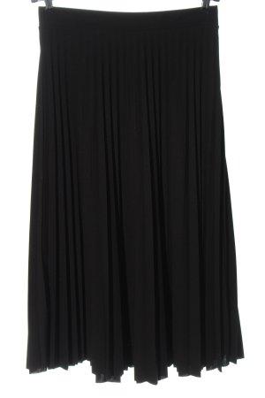 Amisu Pleated Skirt black elegant