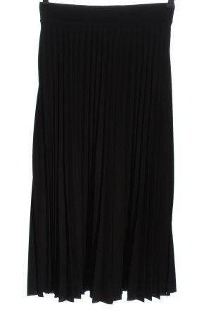 Amisu Pleated Skirt black casual look