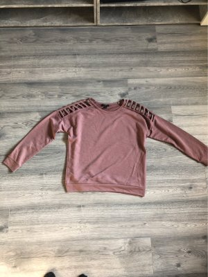 Amisu Long Sweater rose-gold-coloured