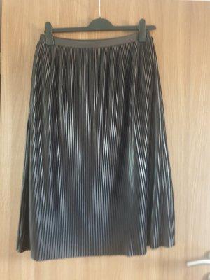 Amisu Pleated Skirt black