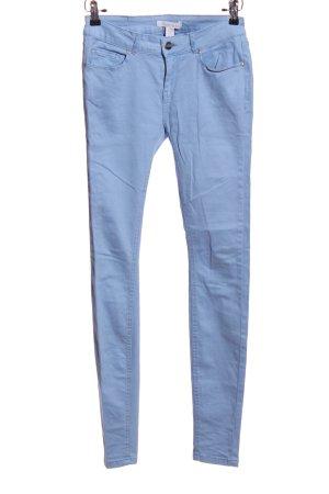 Amisu Pantalone a sigaretta blu stile casual