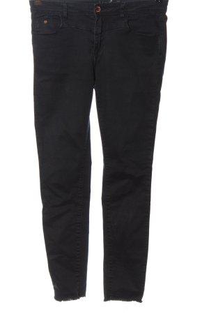 Amisu Drainpipe Trousers black casual look