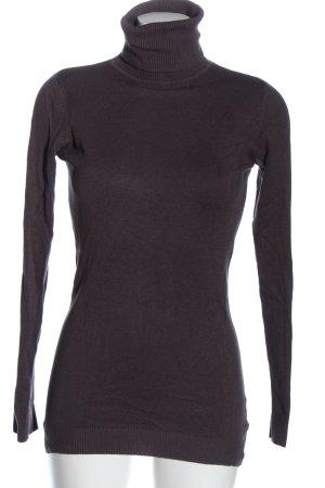 Amisu Turtleneck Sweater black casual look