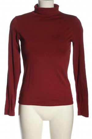 Amisu Turtleneck Shirt red casual look