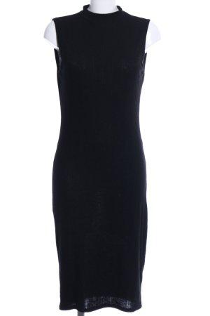 Amisu Tube Dress black casual look