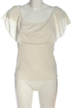 Amisu Schlupf-Bluse wollweiß Elegant