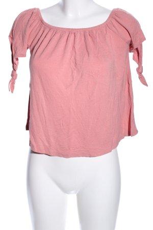 Amisu Schlupf-Bluse pink Casual-Look