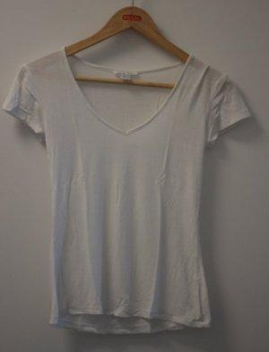 Amisu Shirt basique blanc polyester