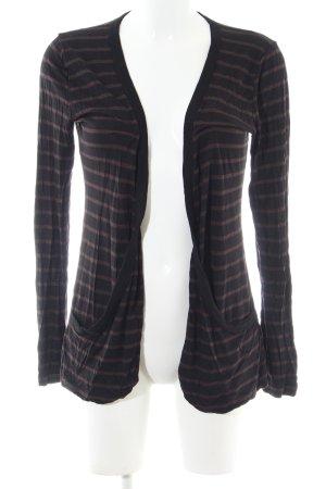 Amisu Shirt Jacket black-bronze-colored striped pattern casual look