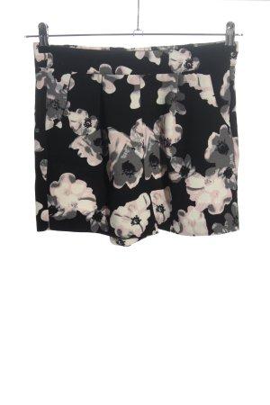 Amisu Shorts Allover-Druck Casual-Look