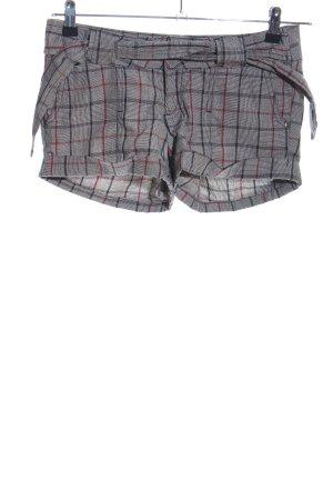 Amisu Shorts check pattern casual look