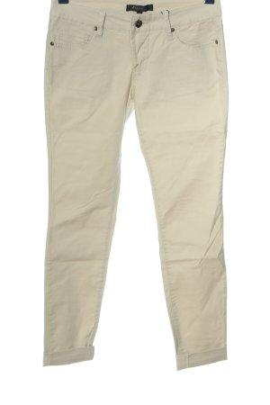 Amisu Skinny Jeans creme Casual-Look