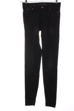 Amisu Skinny Jeans schwarz Casual-Look