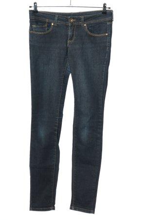 Amisu Skinny Jeans blau Casual-Look