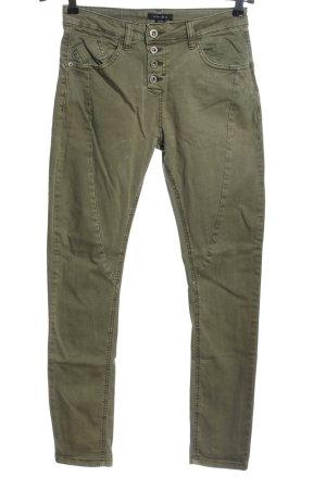 Amisu Skinny Jeans khaki Casual-Look