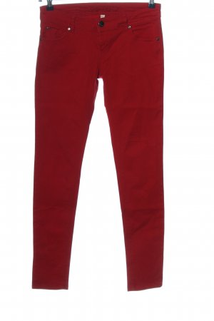 Amisu Skinny Jeans rot Casual-Look