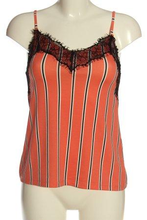 Amisu Spaghetti Strap Top striped pattern casual look