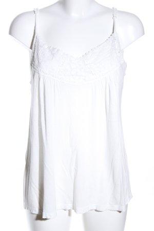 Amisu Spaghetti Strap Top white casual look