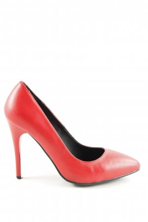 Amisu Spitz-Pumps rot Business-Look