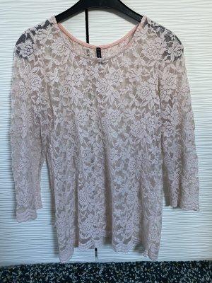 Amisu Maglia a rete rosa chiaro