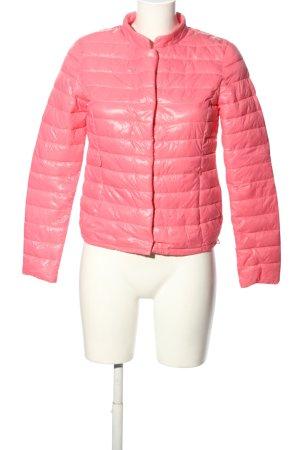 Amisu Steppjacke pink Steppmuster Casual-Look