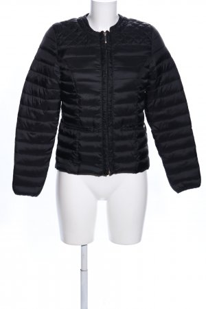 Amisu Quilted Jacket black casual look