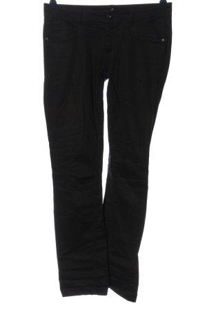 Amisu Spodnie materiałowe czarny W stylu casual