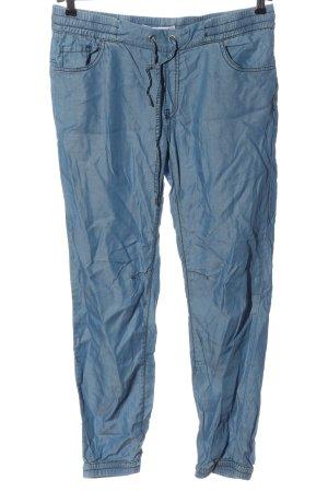 Amisu Jersey Pants blue casual look