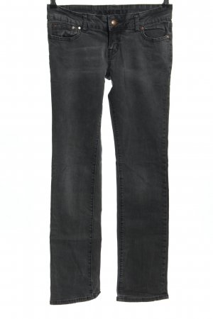 Amisu Stretch Jeans hellgrau Casual-Look