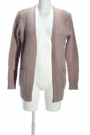 Amisu Knitted Cardigan bronze-colored casual look