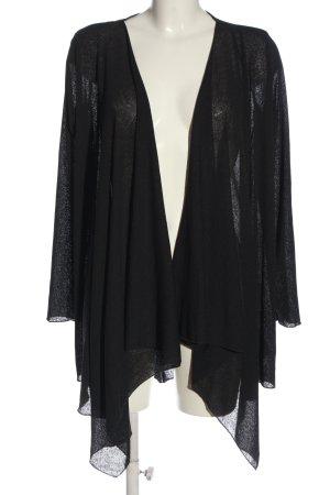 Amisu Cardigan tricotés noir style décontracté