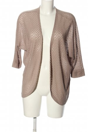 Amisu Strick Cardigan wollweiß Casual-Look