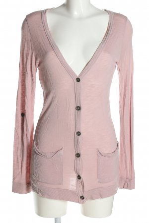 Amisu Strickjacke pink Casual-Look