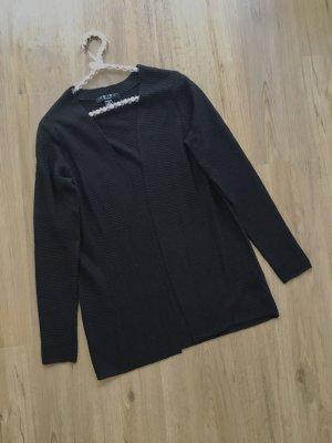 Amisu Knitted Cardigan black