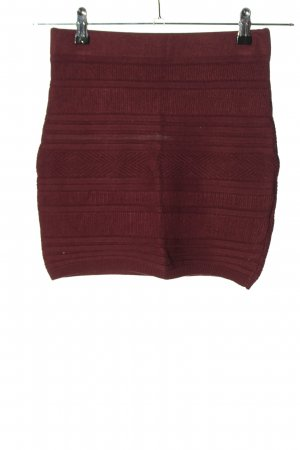 Amisu Knitted Skirt brown casual look