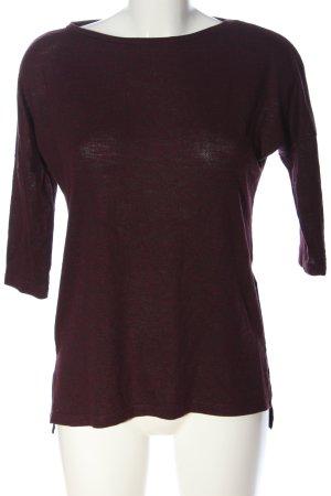 Amisu Strickshirt rot Casual-Look