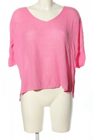 Amisu Strickshirt pink Casual-Look