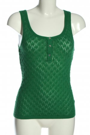Amisu Knitted Top green casual look