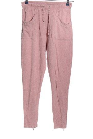 Amisu Pantalon de jogging rose moucheté style décontracté