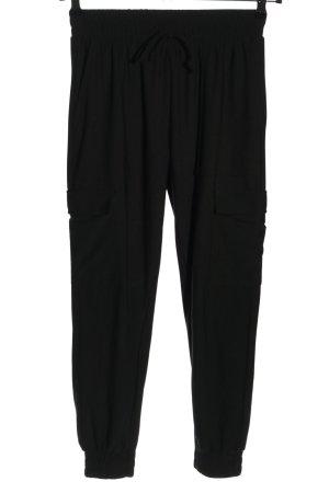 Amisu Sweathose schwarz schlichter Stil
