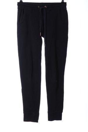Amisu Pantalon de jogging noir style décontracté