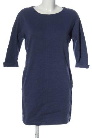Amisu Sweatkleid blau Casual-Look