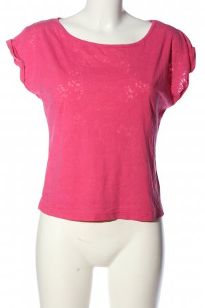 Amisu T-shirt różowy W stylu casual