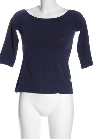 Amisu T-Shirt blau Casual-Look
