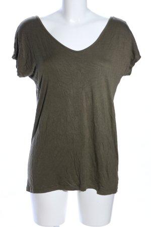 Amisu T-Shirt khaki Casual-Look