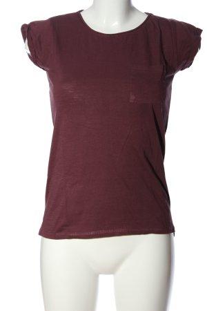 Amisu T-Shirt braun Casual-Look