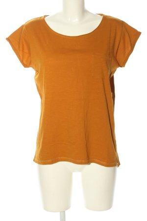 Amisu T-Shirt hellorange Casual-Look
