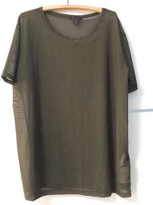 Amisu T-Shirt khakigrün